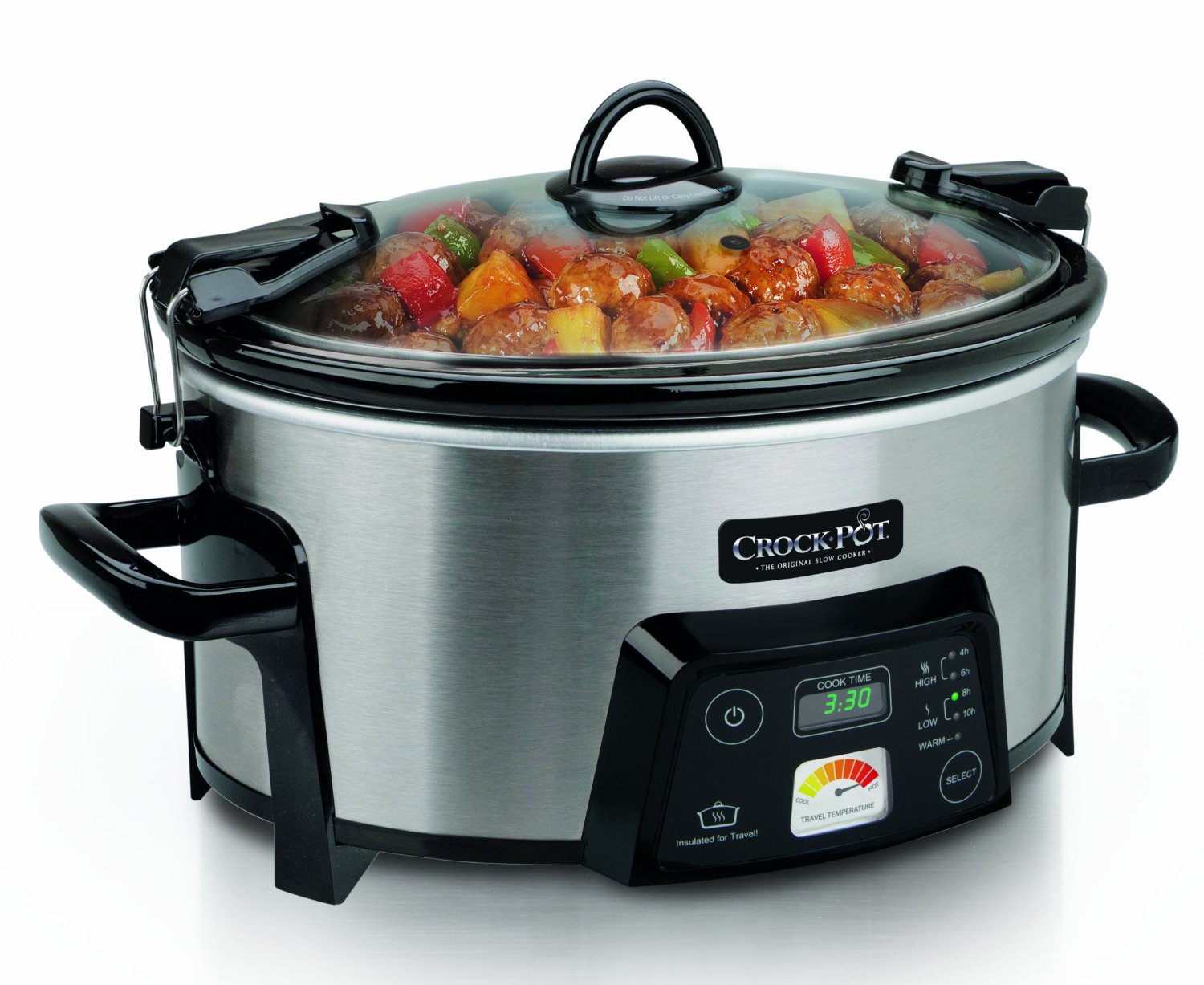 Crock Pot Programmable Slow Cooker