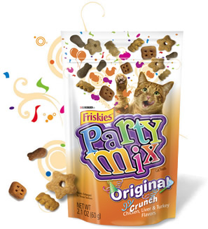 FREE Friskies Party Mix cat tr...