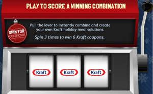 kraftspin 300x185 Kraft Foods Hub Spin and Win Game! (Get Kraft Foods Coupons!)