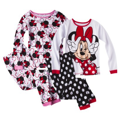 4pc Pajama Sets Only 1199 Hello Kitty Angry Birds Minnie Mouse