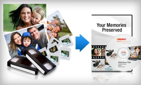 photo Photo  and Video Digitization Services from ScanDigital Only $29 (Reg. $100!)