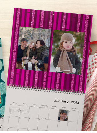 shutterfly1 FREE 2014 Shutterfly Photo Calendar (Just Pay Shipping!)