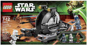 starwarsdroid 300x156 LEGO Star Wars Corporate Alliance Tank Droid Only $14.99! (reg. $24.99)
