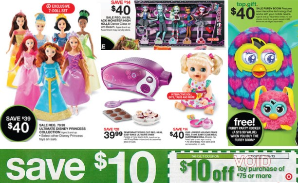 Target Toy For 10 And Up : New high value off of toy purchase at target hot