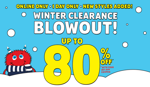 Childrens Place 80 off The Childrens Place: Up to 80% off + FREE Shipping  Today Only!