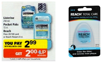 FREE Reach Floss FREE Reach Floss at Rite Aid!
