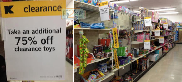 Kmart: Extra 75% off Toy Clearance Sale!