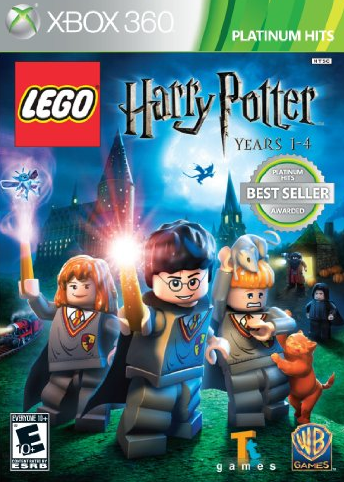 LEGO Harry Potter xbox 1 to 4