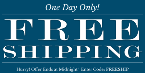 Oneida free shipping Oneida.com: Up to 75% off + FREE Shipping on ALL Orders (Today Only)