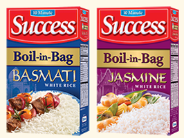 Success Rice FREE Sample of Success Rice! First 5000!