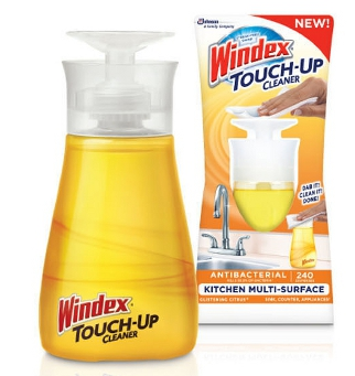 Windex Touch Up 4 FREE + 1.22 Moneymaker on  Windex Touch Up Cleaners at Target!