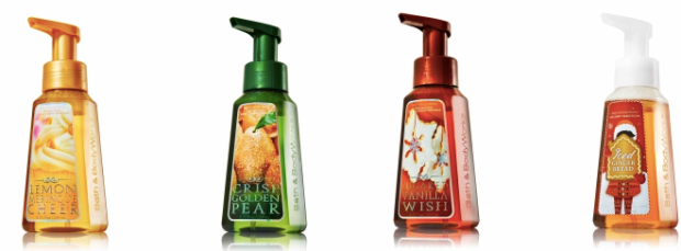 bbw soaps Bath & Body Works: Hand Soap Just $1.34 Each Shipped + FREE Mini Eucalyptus Mint 3 Wick Candle ($22.50 Value!)