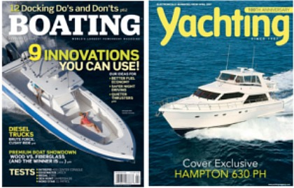 boating and yachting mags