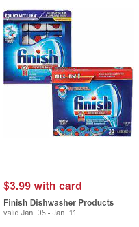 finish Finish Dish Detergent Only $1.84 at Walgreens!