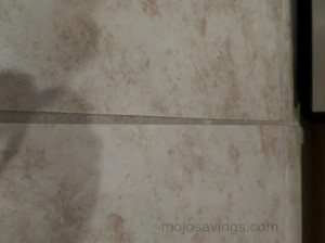 grout11 300x224 Clean your Grout with Lemon Juice!
