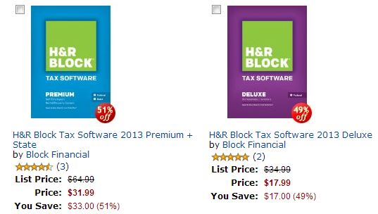 HR Block Tax Software Up To 51 Off