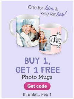 mugs bogo Buy One Get One Free Photo Mugs from Walgreens
