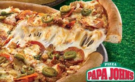 papa free FREE Pizza at Papa John's With Purchase!