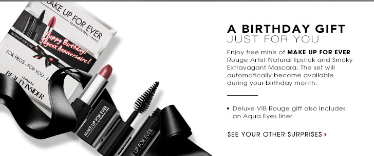 sephora birth FREE Beauty Gift at Sephora for Your Birthday!