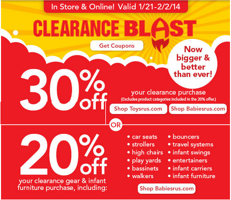 toysrusclearance HOT! Toys R Us: Up to 80% off Clearance Prices + Extra 30% Off!