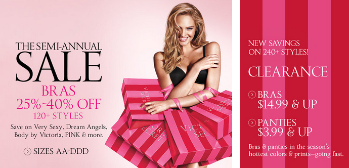 vicsecretclearance Victorias Secret: Bras, Yoga Pants, Dresses and More Under $20 + Free Shipping Offer!