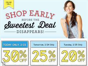 30off 300x224 Old Navy: 30% Off Today Only!