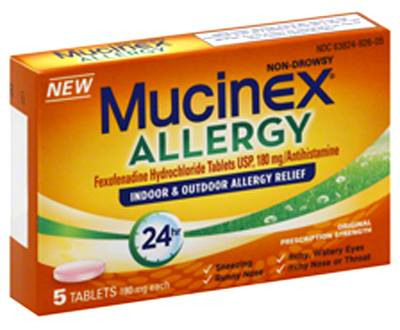 Mucinex allergy $2.04 Money Maker on Mucinex Allergy at Target!