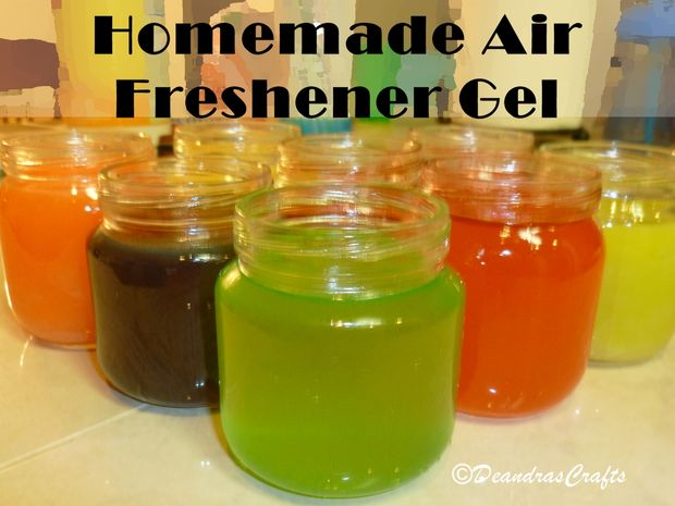 airgel DIY: Homemade Air Freshener Gel