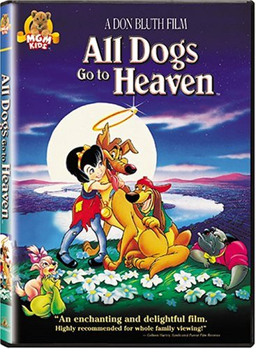 All Dogs Go to Heaven on DVD Only $3 Shipped, Movies, Amazon Deals, Entertainment, Kids, Children, Online Deals, FREE Shipping