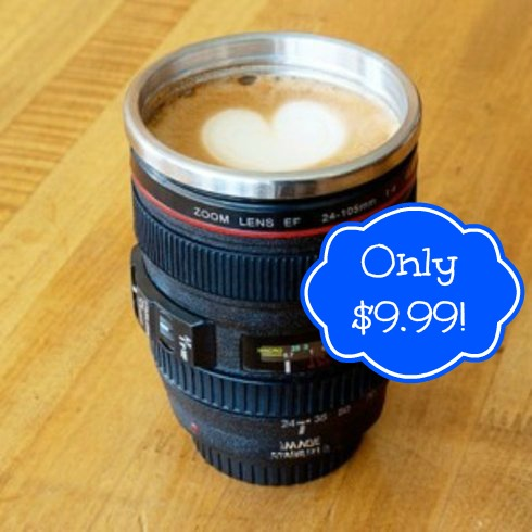 cameralens Camera Lens Coffee Mug Only $9.99 (Reg. $29.95!)