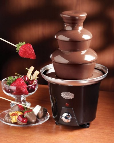 chocolate fondue fountain kmart instructions