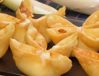 crabrangoon Recipe: Baked Crab Rangoon!