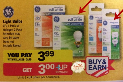 ge light bulb Rite Aid ad FREE GE Light Bulbs at Target and Rite Aid!