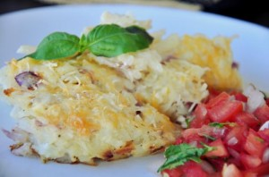 hashbrown casserole 300x198 CopyCat Recipe: Cracker Barrel Hashbrown Casserole!