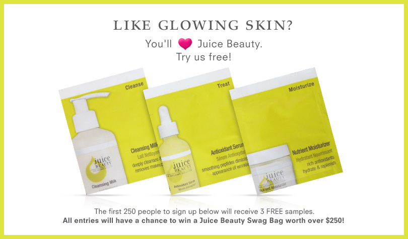 juice FREE Sample of Juice Beauty Daily Essentials Collection!