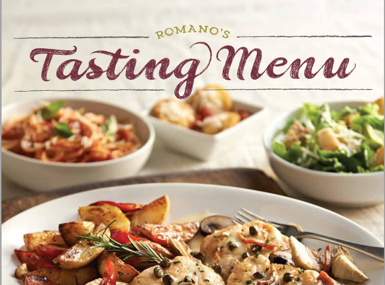 macaronigrill Macaroni Grill: New Tasting Menu  Four Course Menu for Only $20!