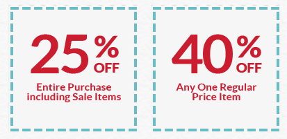 michaels Michaels: Save 25% off of Your Entire Purchase + 40% off One Item!