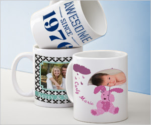 mugs $10 off $10+ Photo Product Purchase!