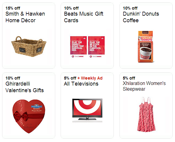 Over 200 New Target Cartwheel Offers Home Decor Valentine 39 S Day Gifts Tv 39 S And More