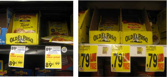 oldelpaso $1 Money Maker on Old El Paso Seasoning at Kroger & Giant Eagle!