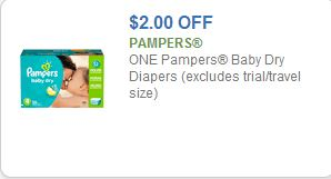 pampers $2 off coupon
