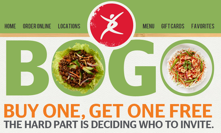 pei wei *HOT* Pei Wei Buy One Get One Free Coupon