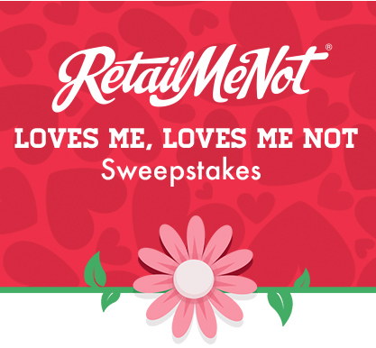 retailmenot RetailMeNot Loves Me, Loves Me Not Sweepstakes Instantly Win 1 of 5,000 $20 Amazon Gift Cards!