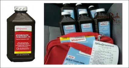 walgreens Hydrogen Peroxide Only $0.17 + 2 FREE First Aid Bags at Walgreens!