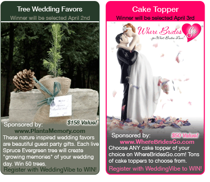 weddings Free Wedding Giveaways and Contests ($150 Gift Card, Video, Decorations + MORE)