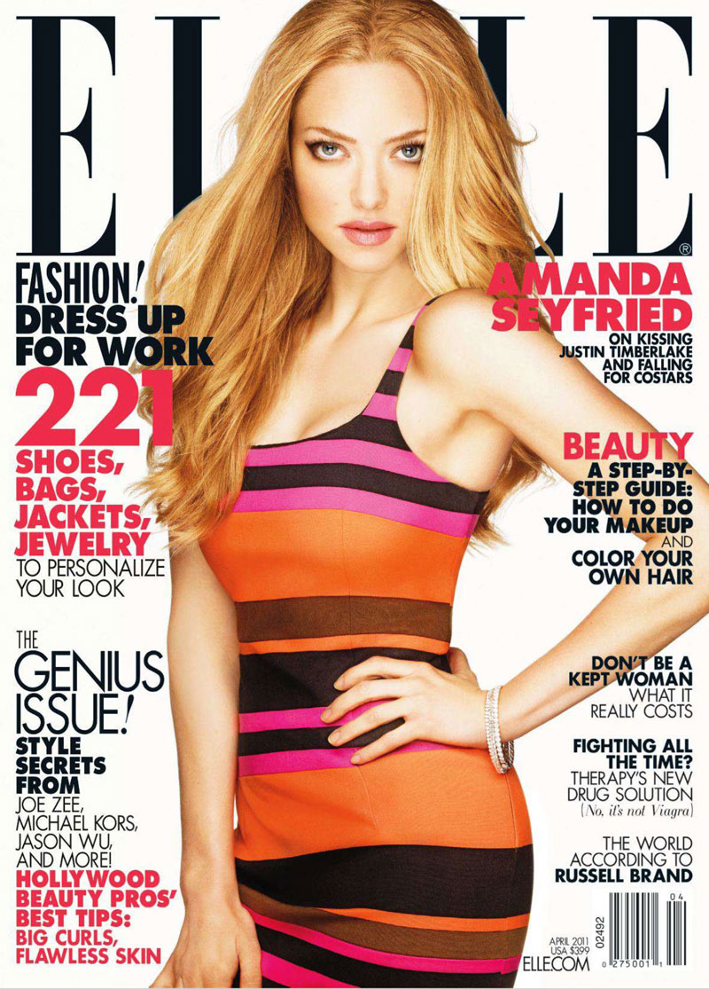 Amanda Seyfried for ELLE US DESIGNSCENE net 01 FREE 2 Year Subscription to Elle Magazine!