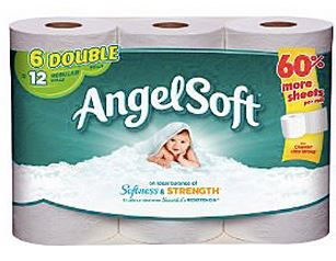 Angel Soft 6 pack double rolls Angel Soft 6 Pack Double Rolls Just $1.92 at Target