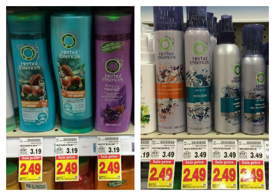 Herbal Essences Herbal Essences Shampoo and Conditioner Only $.99 at Kroger!!