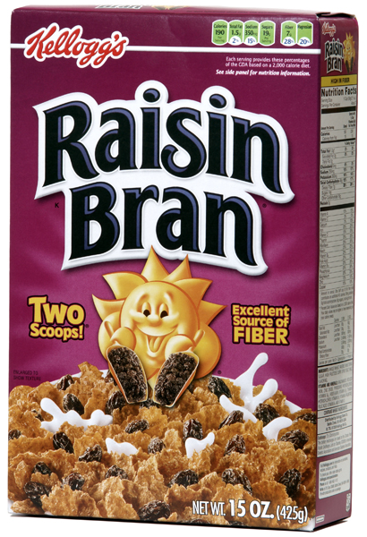 Raisin Bran Box Small Raisin Bran Cereal Only $0.99 at CVS!