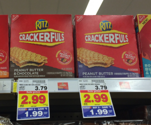 Ritz Crackerful 300x249 Ritz Crackerfuls Only $0.49 at Kroger or Walmart!